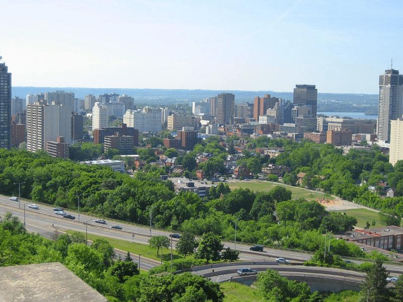 Hamilton and Burlington